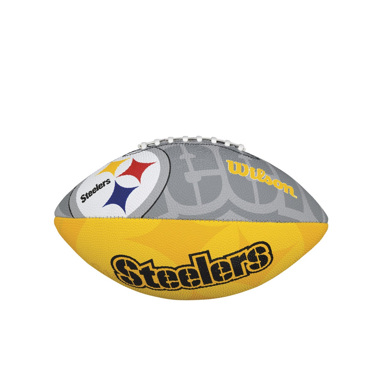 NFL TEAM LOGO JUNIOR SIZE FOOTBALL - PITTSBURGH STEELERS
