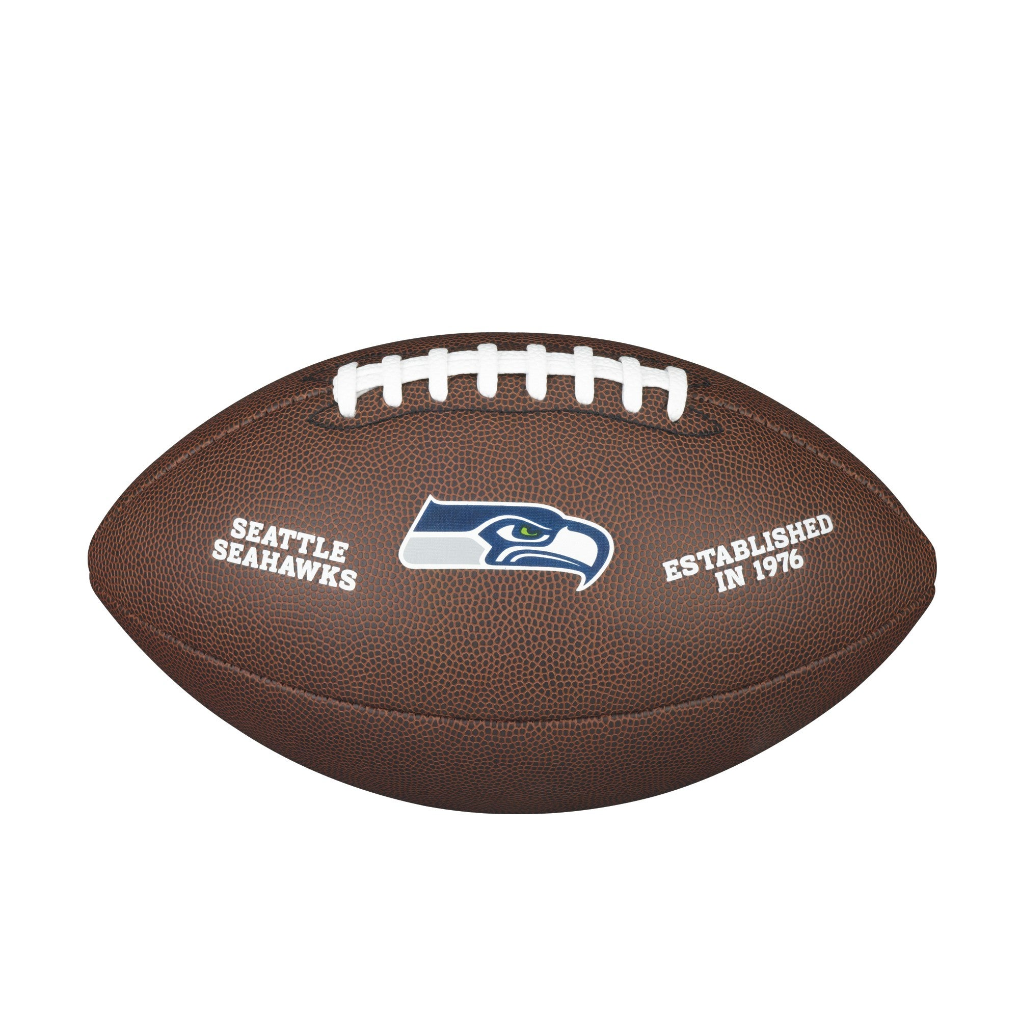 NFL TEAM LOGO COMPOSITE FOOTBALL - OFFICIAL, SEATTLE SEAHAWKS