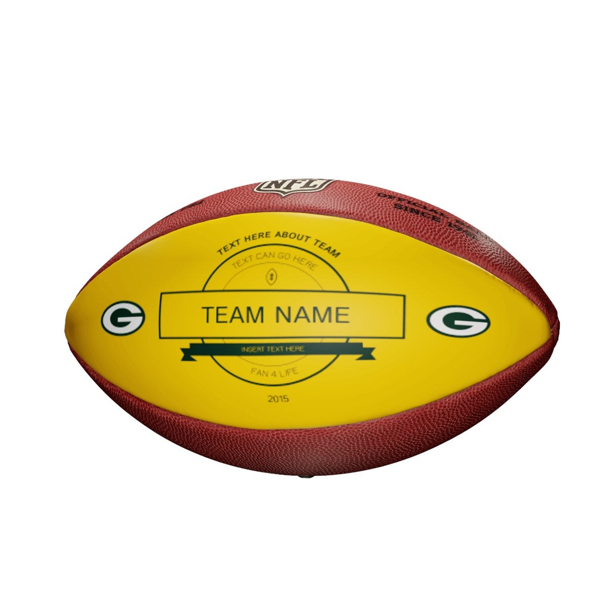 Personalized NFL Green Bay Packers Ultimate Fan Football