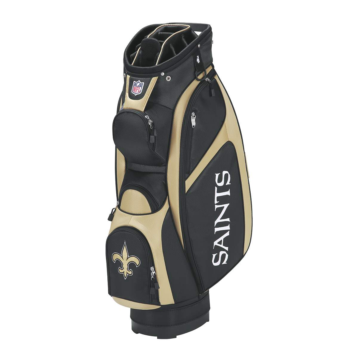 Wilson NFL Cart Golf Bag - New Orleans Saints