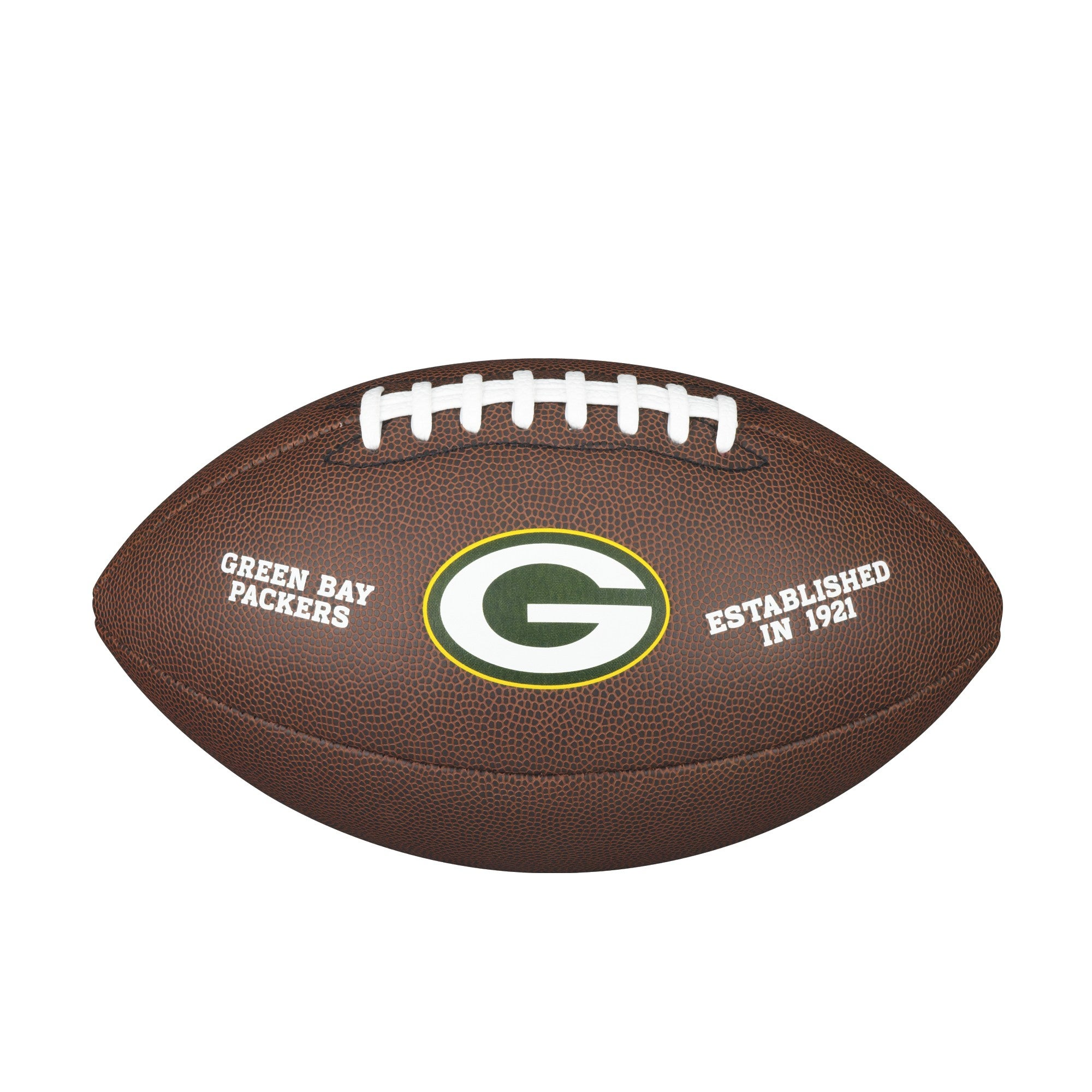 NFL TEAM LOGO COMPOSITE FOOTBALL - OFFICIAL, GREEN BAY PACKERS